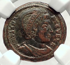 Saint HELENA Mother of Constantine the Great ANCIENT 326AD Roman Coin NGC i73120