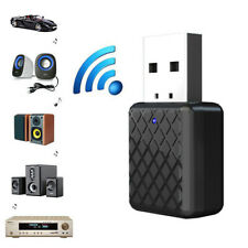 USB Bluetooth 5.0 Transmitter Receiver AUX Audio Adapter for TV/PC/Car/Speaker