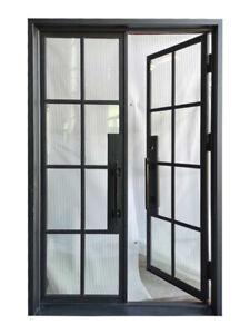 steel black french door home doors for