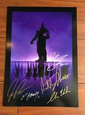 avengers poster autographed ebay