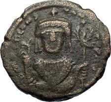 TIBERIUS II CONSTANTINE Authentic Ancient 578AD Follis Byzantine Coin i71149