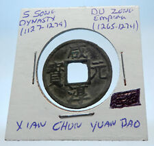 1265AD CHINESE Southern Song Dynasty Genuine DU ZONG Cash Coin of CHINA i72588