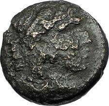 ALEXANDER III the GREAT 336BC Macedonia Ancient Greek Coin HERCULES CLUB i67894