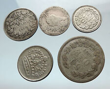 GROUP LOT of 5 Old SILVER Europe or Other WORLD Coins for your COLLECTION i75490