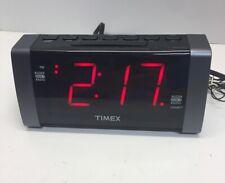 T235 Double Alarm Am Fm Clock Radio
