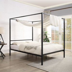black beds bed four poster beds bases