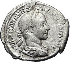 SEVERUS ALEXANDER 223AD Rome Authentic Ancient Silver Roman Coin Salus i69455