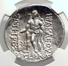 Celtic Celts Danube Silver Tetradrachm Greek Style Coin like THASOS NGC i72634
