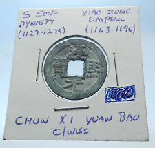 1163AD CHINESE Southern Song Dynasty Genuine XIAO ZONG Cash Coin of CHINA i72524