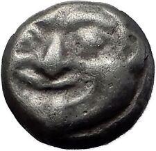 PARION in MYSIA 550BC Gorgoneion Medusa ARCHAIC Ancient Silver Greek Coin i60345