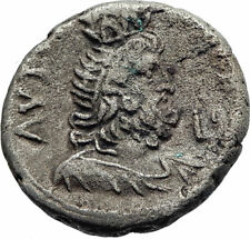 NERO Ancient 63AD Alexandria Egypt Tetradrachm Ancient Roman Coin SERAPIS i74880
