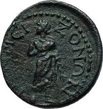 TERMESSOS MAJOR in PISIDIA 2-3CenAD HERMES & ASCLEPIUS Ancient Greek Coin i66540