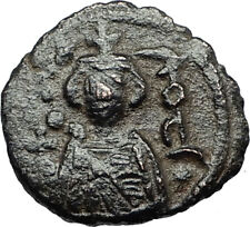 Islamic Arab Byzantine UMAYYAD Caliphate 670AD Authentic Ancient Coin  i67252