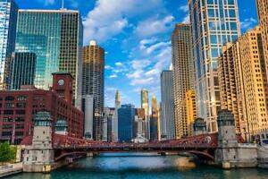 chicago skyline poster products for