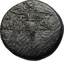 AMISOS in PONTUS 105BC Mithradates VI the Great GORGON NIKE Greek Coin i67366