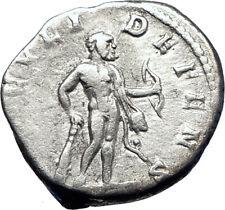 SEPTIMIUS SEVERUS 197AD Rome Silver Ancient Roman Coin  Hero  HERCULES i73577