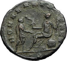 AURELIAN Authentic Ancient 271AD MILAN Genuine Original Roman Coin ROMA i71187