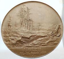 1917 AUSTRIA WWI World War I LARGE 6.5cm Medal of MARSHALL PETER HOFMANN i69598