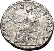 SEPTIMIUS SEVERUS 198AD  Silver Rare Ancient Roman Coin PAX Peace Cult  i53180