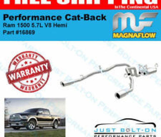 Magnaflow Mf Ss Cat Back For 2011  Hemi 5 7l V8