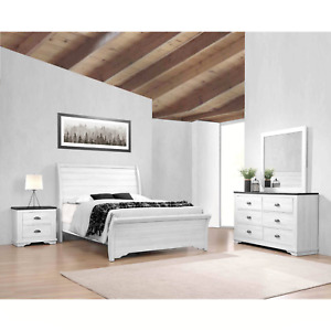 king white rustic bedroom furniture