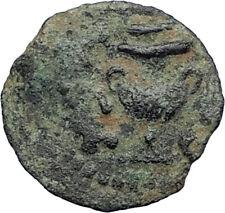 Authentic Ancient JEWISH WAR vs ROMANS 67AD Historical JERUSALEM Coin i67753