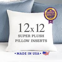 throw pillow decorative euro sham white