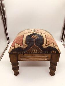 vintage ottomans footstools poufs