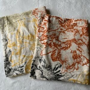garnet hill multicolor standard pillow