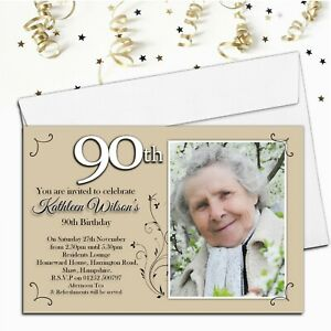 70th birthday invitations for sale ebay