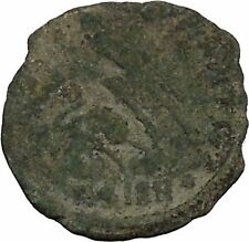 CONSTANTIUS II Constantine the Great son Ancient Roman Coin Battle Horse  i44867