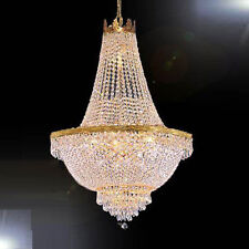 French Empire Crystal Chandelier Chandeliers Lighting H30 X W24