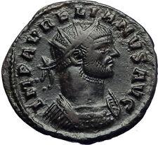 AURELIAN with JUPITER Authentic Ancient Genuine 272AD Rome Roman Coin i70732