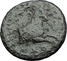 Kolophon Colophon IONIA 360BC Authentic Ancient Greek Coin APOLLO & HORSE i63133