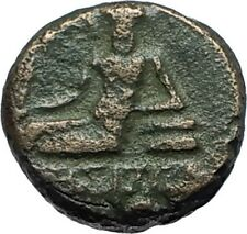 ODESSOS in THRACE 281BC Authentic Ancient Greek Coin w YOUTH & GREAT GOD i68498