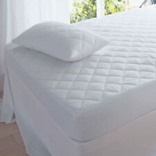 4ft Small Double Beds Quilted Mattress Protector Cover Or Pillow