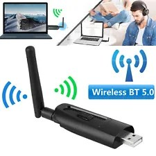 Wireless Bluetooth Transmitter A2DP Dongle Audio Music Adapter for TV PC Switch