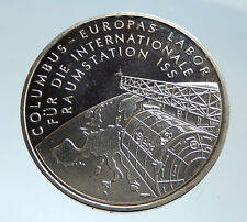 2004 GERMANY International Space Station ISS Planet Silver German Coin i75326