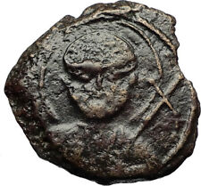 CRUSADERS of Antioch Tancred Ancient 1101AD Byzantine Time Coin St Peter i69524