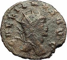 GALLIENUS Genuine 267AD Rome Authentic Ancient Roman Coin w ANTELOPE i77188