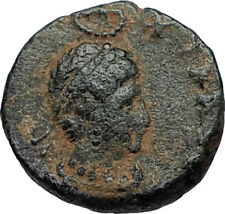EUDOXIA Arcadius Wife 400AD Authentic Ancient Roman Coin HAND OF GOD i67475
