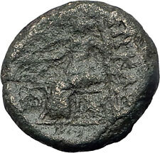 PHILETAIROS Pergamon Kingodm  281BC Athena Asclepius Ancient Greek Coin i63154