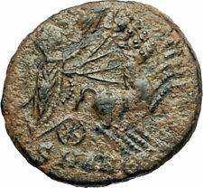 CONSTANTINE I the Great POSTHUMOUS Christian Deification Quadriga Horse i76834