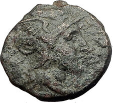 PELLA in Macedonia 148BC RARE R1 Authentic Ancient Greek Coin ROMA WREATH i62739