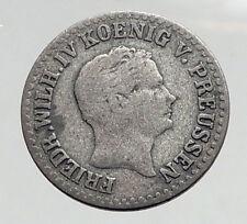 1849 PRUSSIA King Friedrich Wilhelm IV GERMANY Silver German STATES Coin i64592