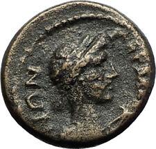 GERME in MYSIA 100AD Pseudo-Autonomous Ancient Greek Coin w Roman Senate i71271