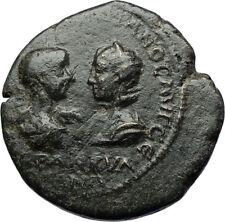 GORDIAN III & TRANQUILLINA Tomis Authentic Ancient Roman Coin ZEUS i71086