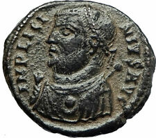 LICINIUS I Constantine I enemy 317AD Authentic Ancient Roman Coin JUPITER i76673