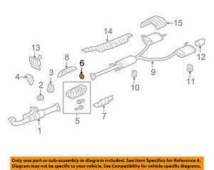 exhaust gaskets for honda ridgeline for