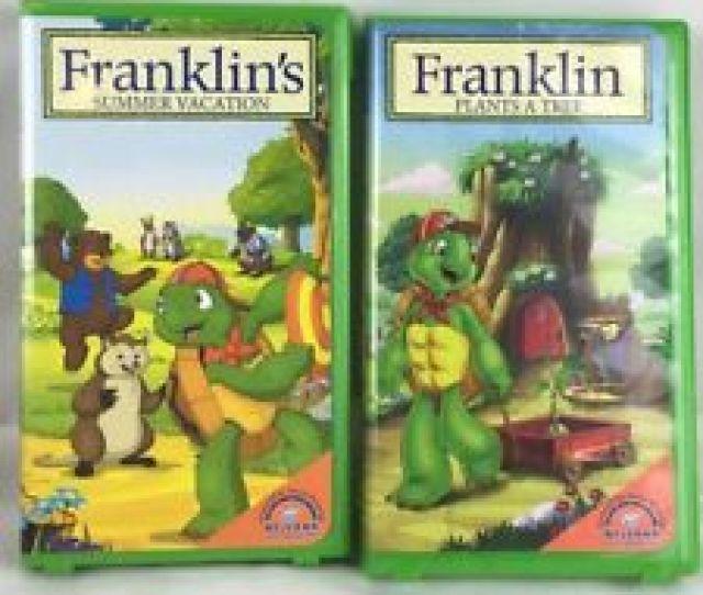 Lot Of 2 Franklin Videos Summer Vacation Plant A Tree Vhs